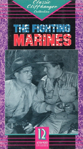 The Fighting Marines (2 Tape Set) VHS Movie (Brand New) - Cliffhanger Serials - Rare Movie Set