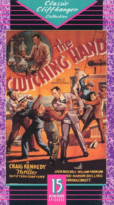 The Clutching Hand (2 Tape Set) VHS Movie (USED) - Cliffhanger Series - Craig Kennedy Thriller Movie