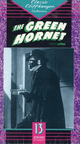 The Green Hornet (2 Tape Set) VHS Movie (Brand New) - Classic Cliffhanger Collection - Rare Movie Set