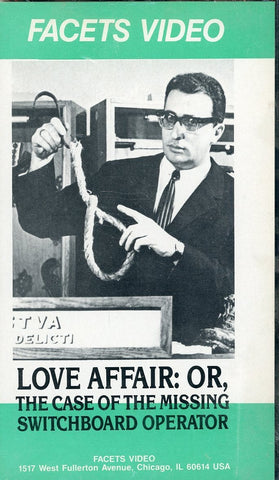 Love Affair: Or, The Case Of The Missing Switchboard Operator VHS Movie (Brand New) - Facets Video - Rare Collectible Item