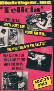 Felicia VHS (USED) - Adult Movie - X-Rated Movie - Something Weird Video - Rare Collectible Item