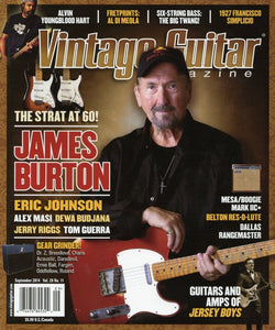Vintage Guitar Magazine Back Issue - September 2014