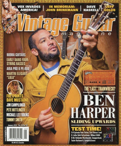 Vintage Guitar Magazine Back Issue - January 2014