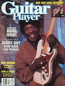 Guitar Player Magazine Back Issue - April 1990
