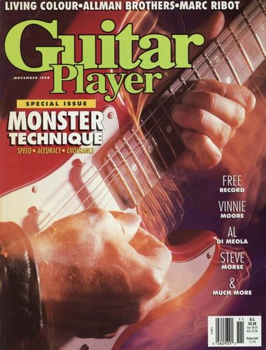 Guitar Player Magazine Back Issue - November 1990