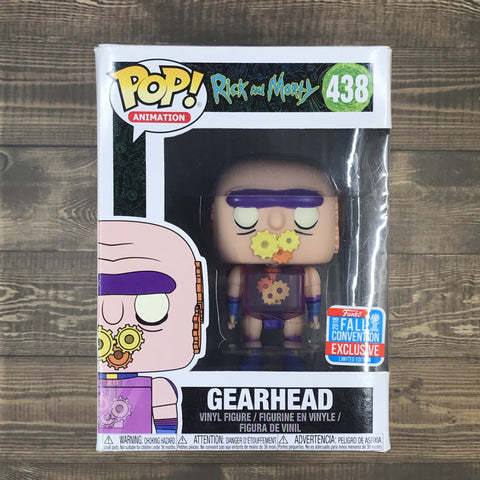 Funko Pop 438 - Gearhead - Rick And Morty