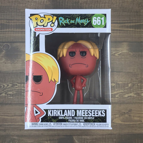 Funko Pop 661 - Kirkland Meeseeks - Rick And Morty Collectible