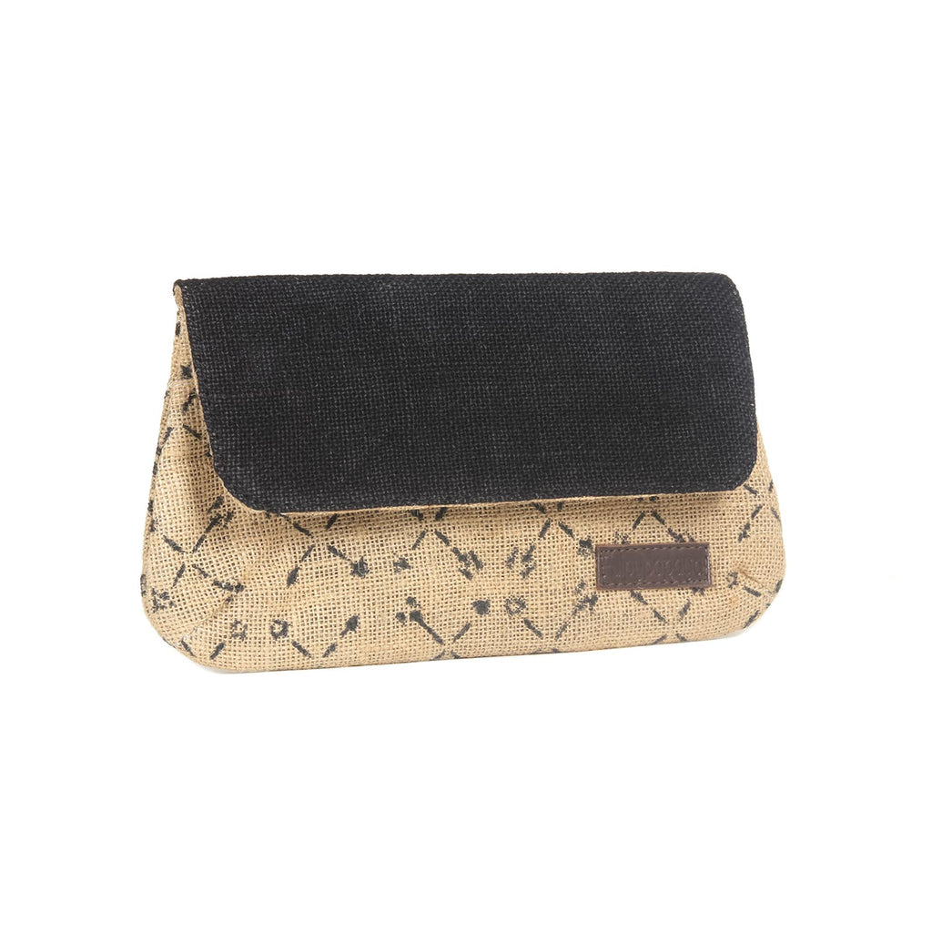 buy unique designer jute clutches bags available best female wallets online by crafinno.com