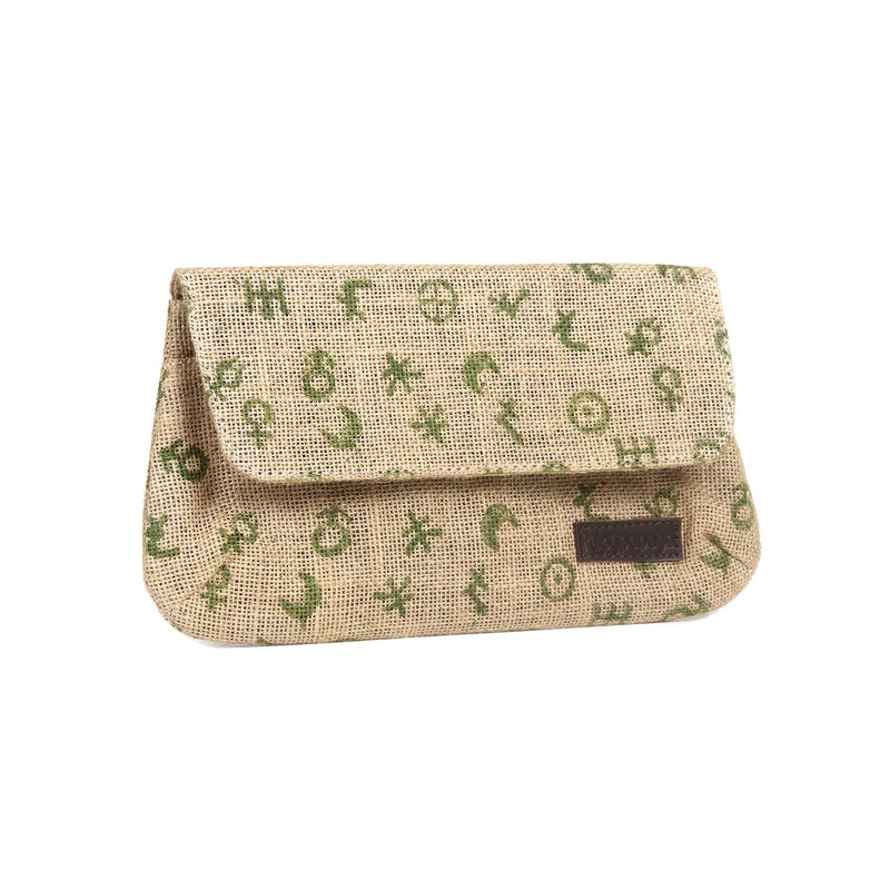 buy fancy pure jute multipurpose block printed best girls wallet in india designed by crafinno.com