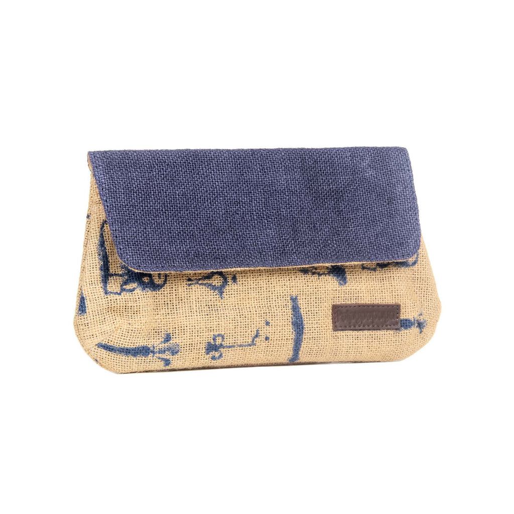 buy jute vintage multipurpose mobile wallets bags online COD in india handmade by crafinno.com