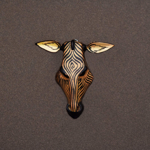 African Giraffe Tiny Mask