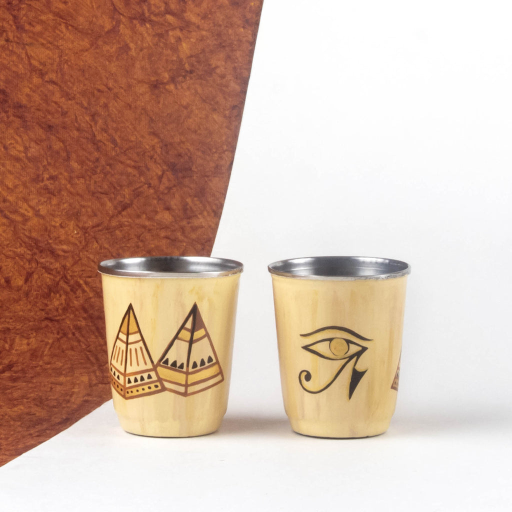 Giza Narrative Mini Glasses Set of 2