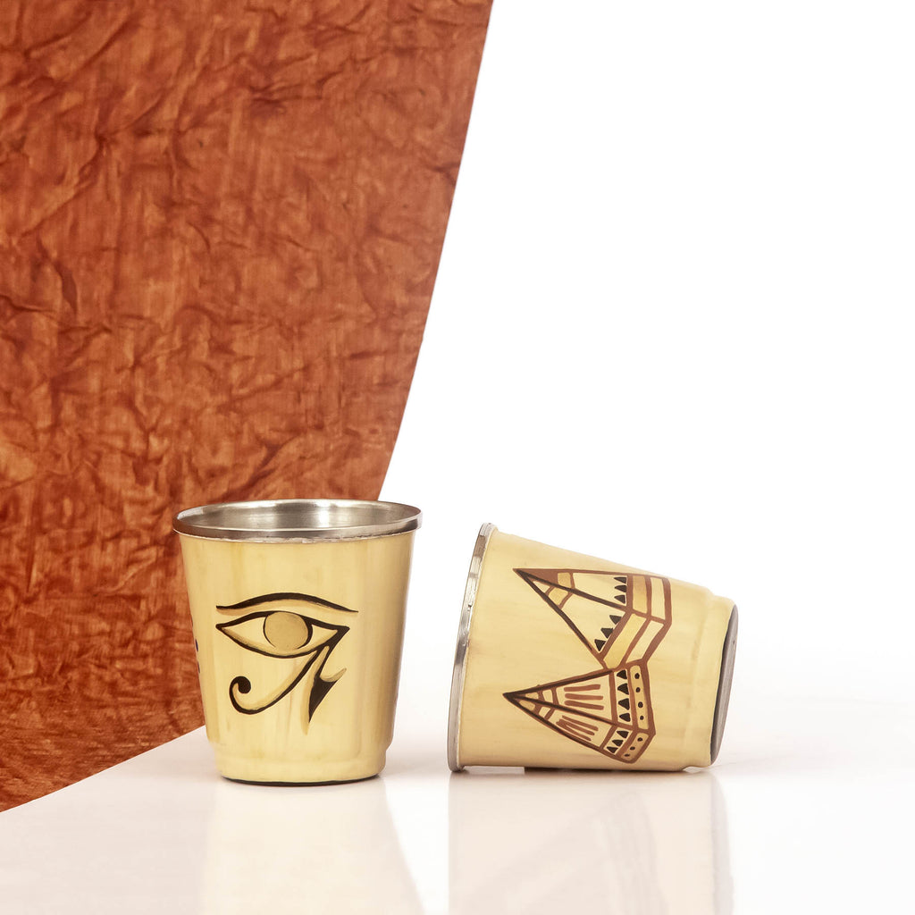 Giza Narrative Tiny Glasses Set of 2