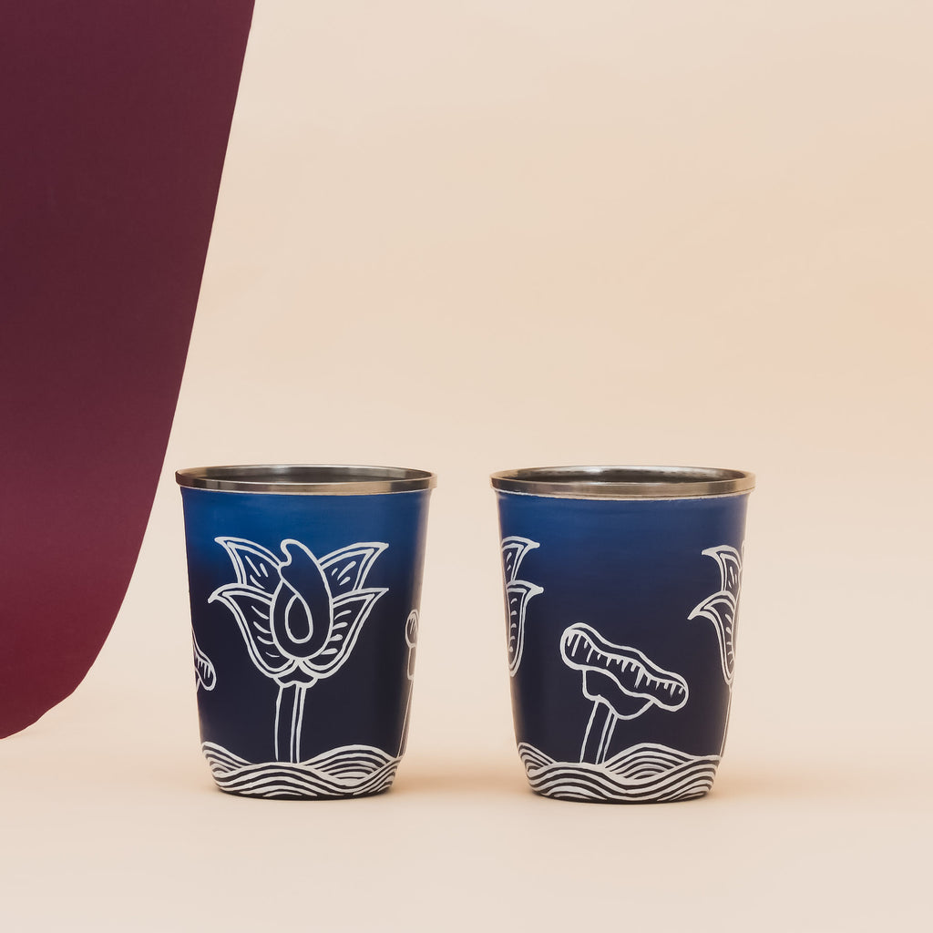 Thangka Lagoon Mini Glasses Set of 2