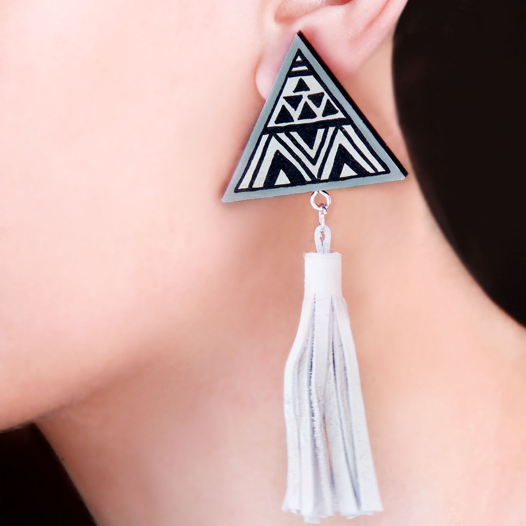 triangle-shape-indian-fashion-wooden-hand-painted-earring-online-uk