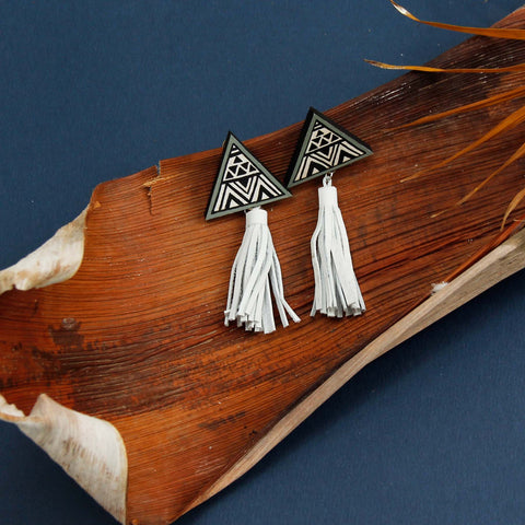 Peace Finch Earring