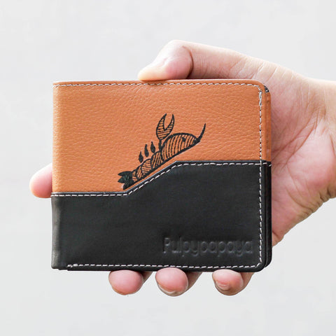Country Rust Passport Holder