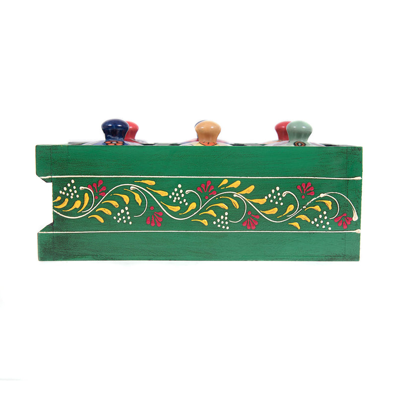 Home decor ideas buy blue pottery 6 drawer wooden drawer chest box online buy pulpypapaya