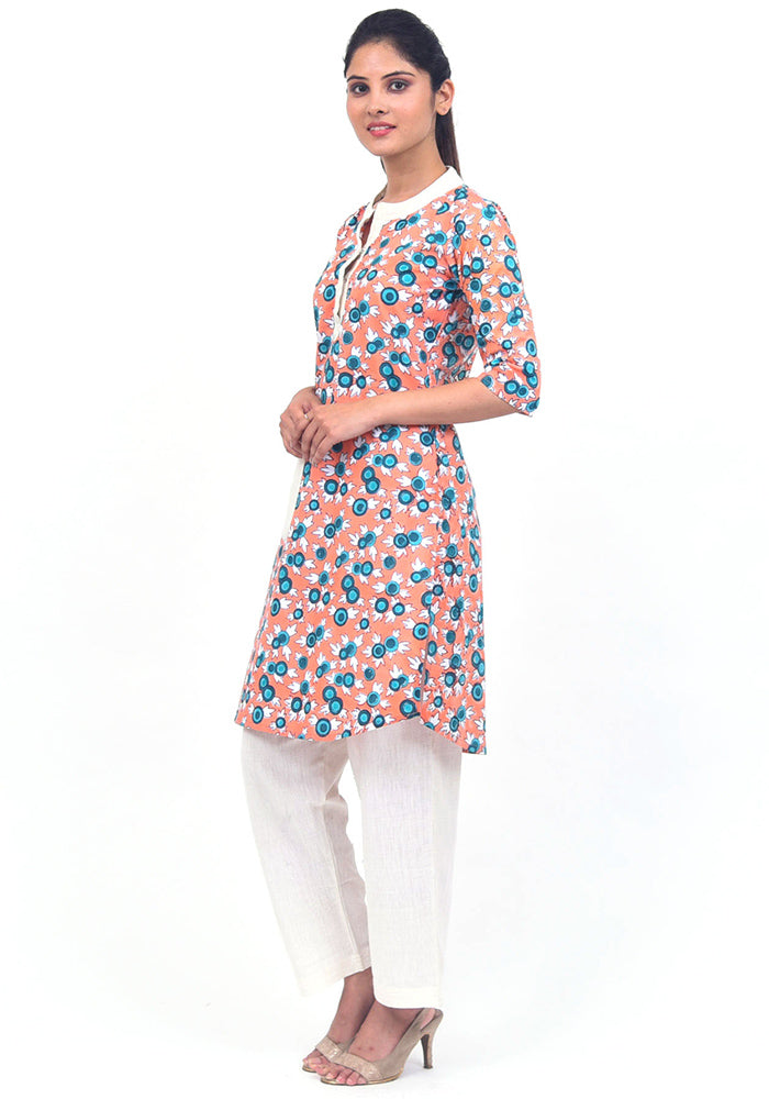 buy-side-slit-beautiful-stylish-hand-block-printed-kurti-online-in-india-handcrafted-clothing