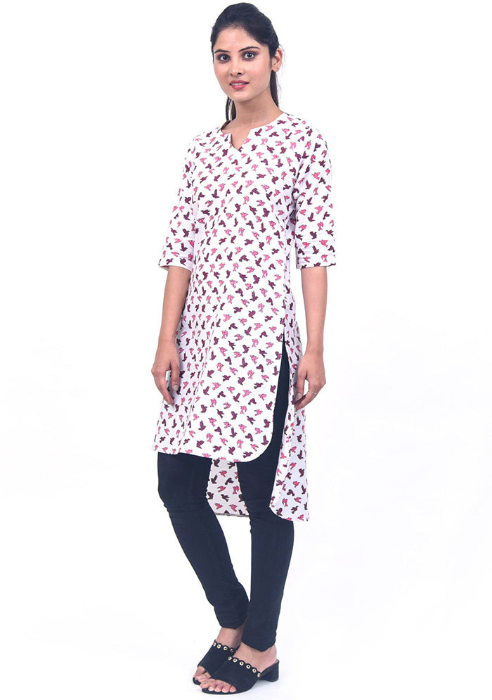 buy-traditional-hand-block-printed-female-upside-down-kurta-online-in-india-indore-bangalore