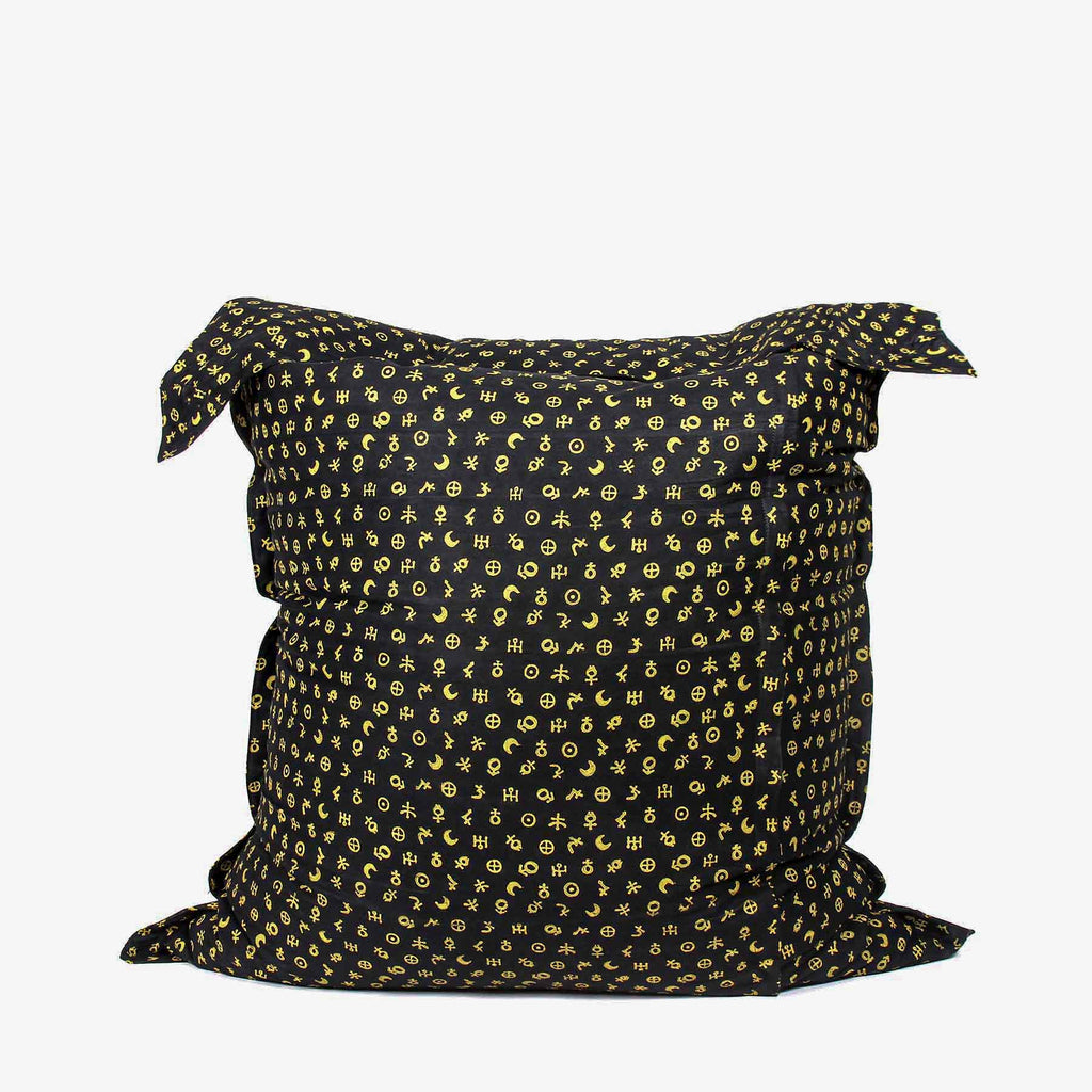 Celestial Sigils Pillow Bean Bag Cover