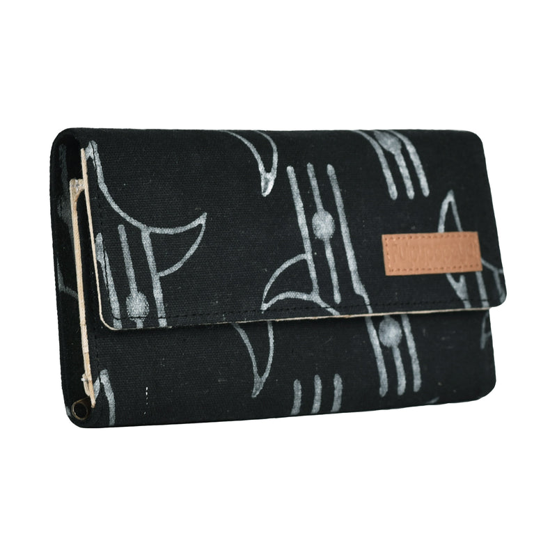 buy online fancy ladies girls cotton fabric block printed fusion style bags purses clutches handmade by crafinno.com