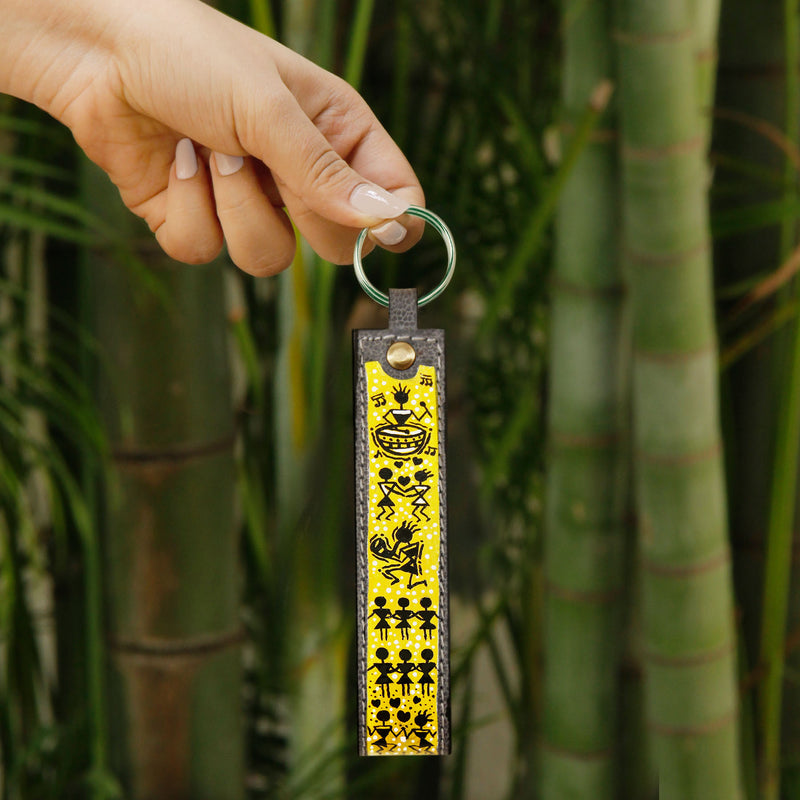 Dancing Tribe Key Chain
