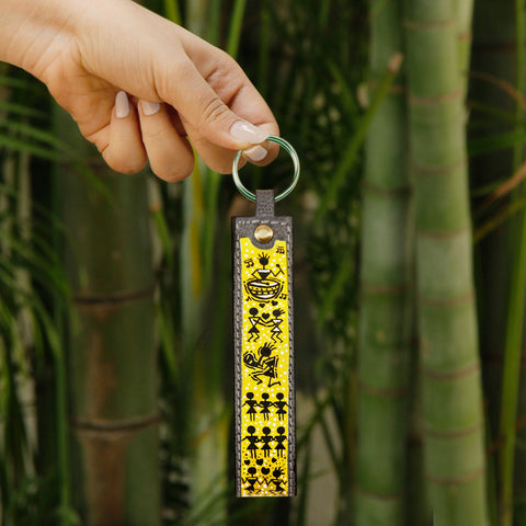 Country Rust Key Chain