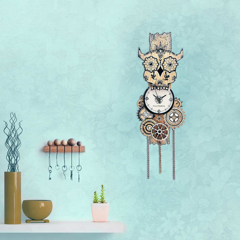Mexiowl Clock