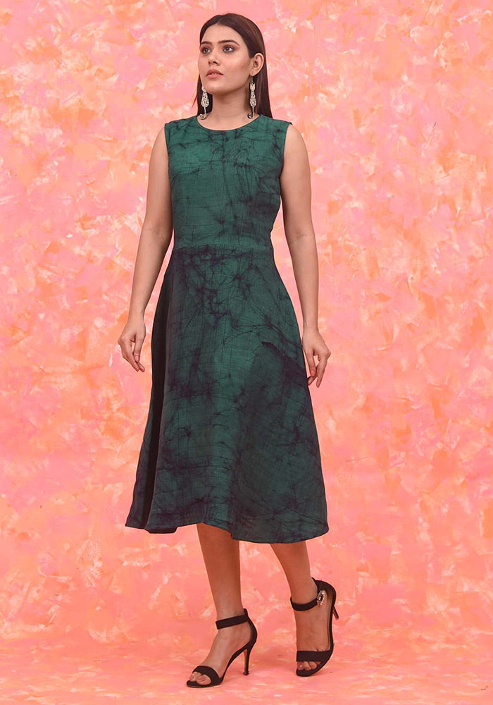 Emerald Night Latitude Dress