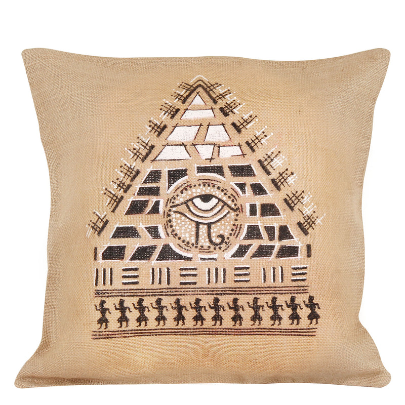 Egyptian Eye Cushion Cover