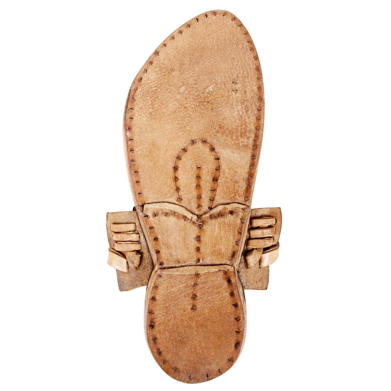 Elite Raw Kolhapuri Slipper