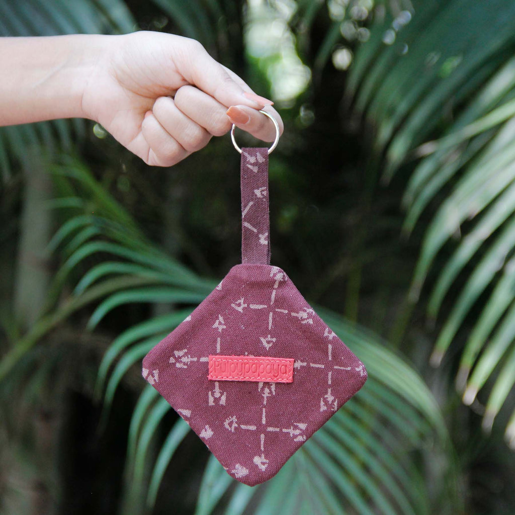 Garnet Arrows Key Chain