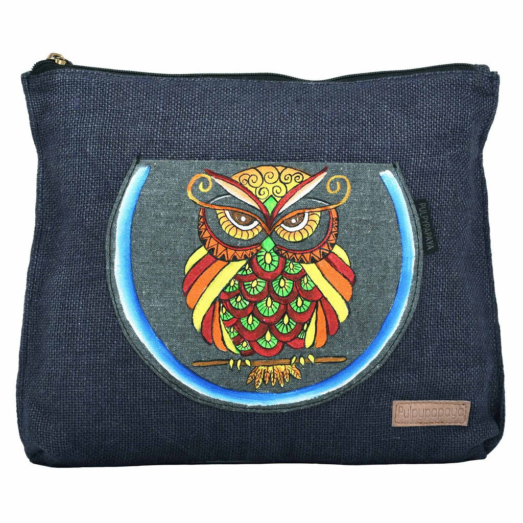 buy designer authentic hand painted bag for females online by crafinno.com