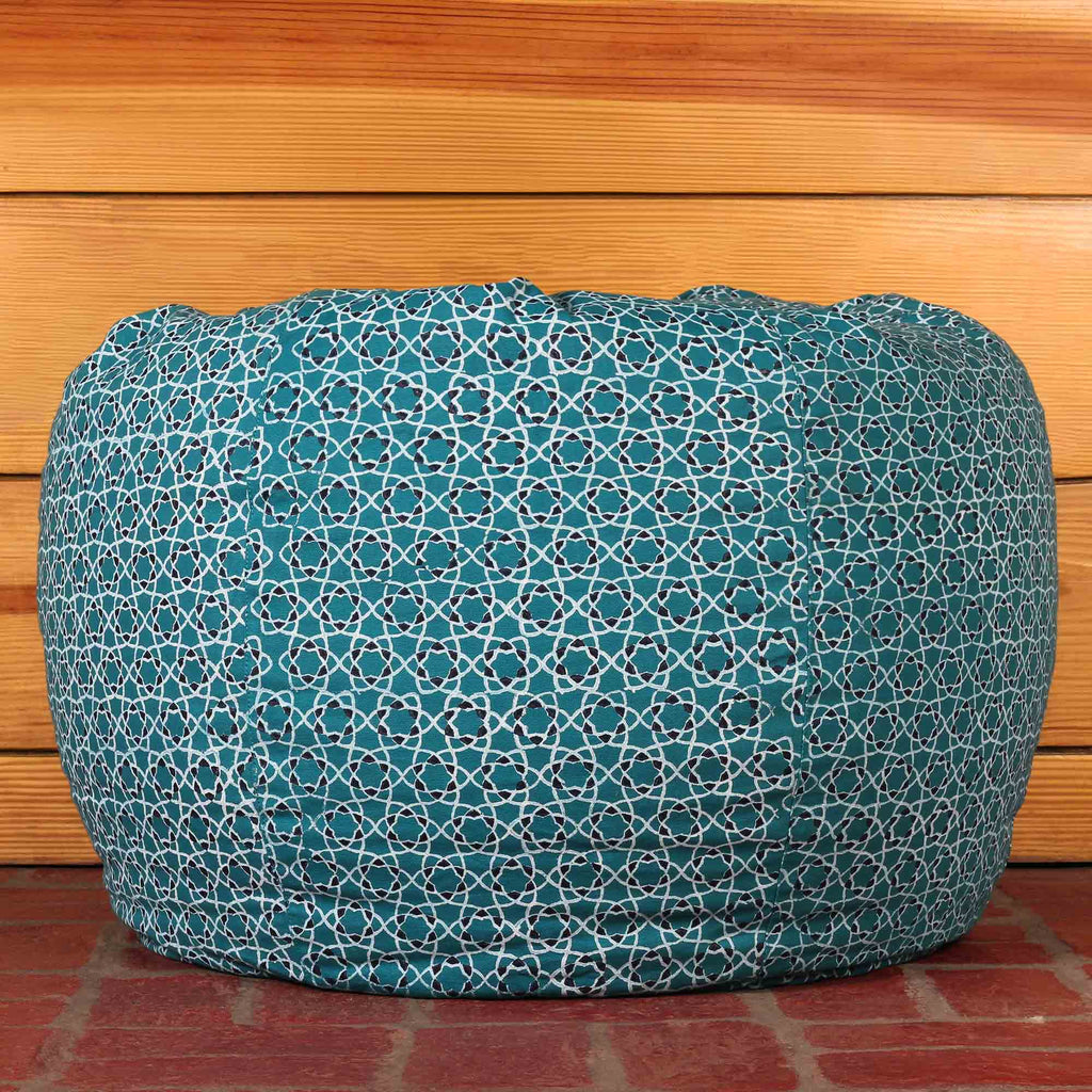 Taj Jaali Bean Bag Cover