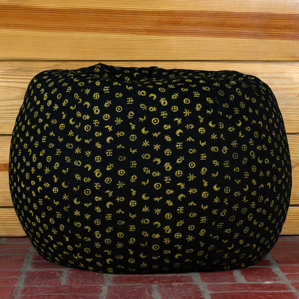 Celestial Sigils Bean Bag Cover