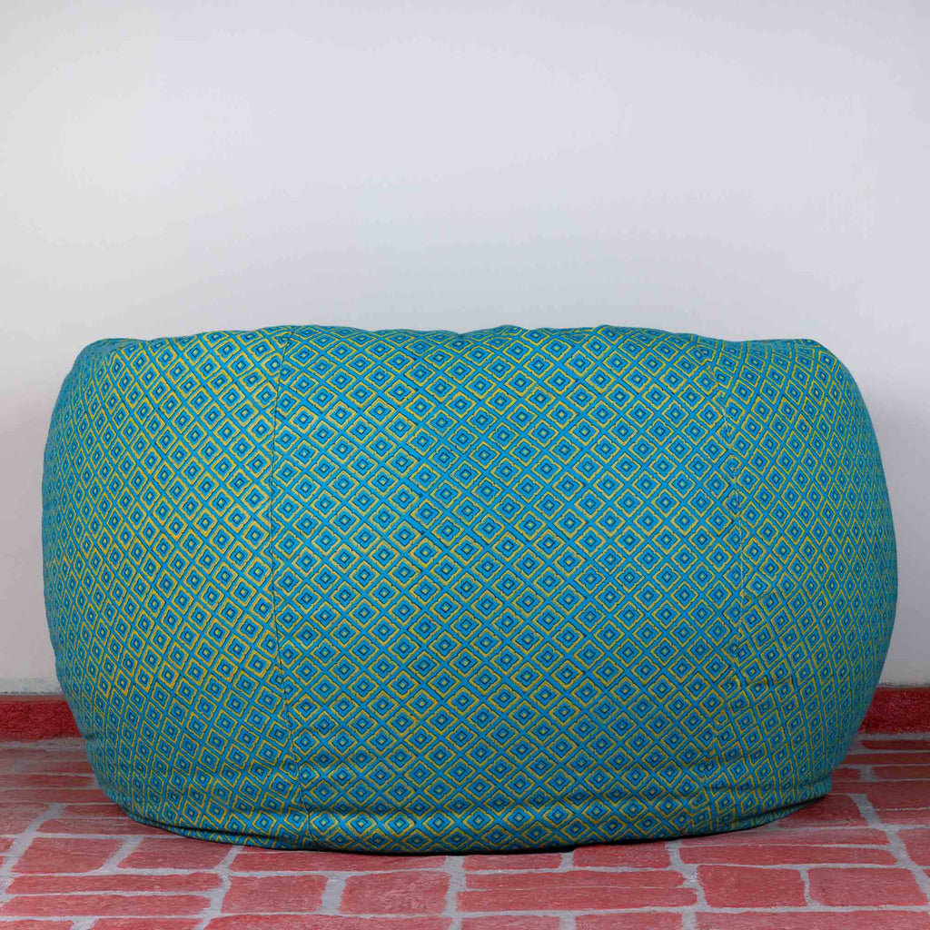 Persian Turq Hillock Bean Bag Cover