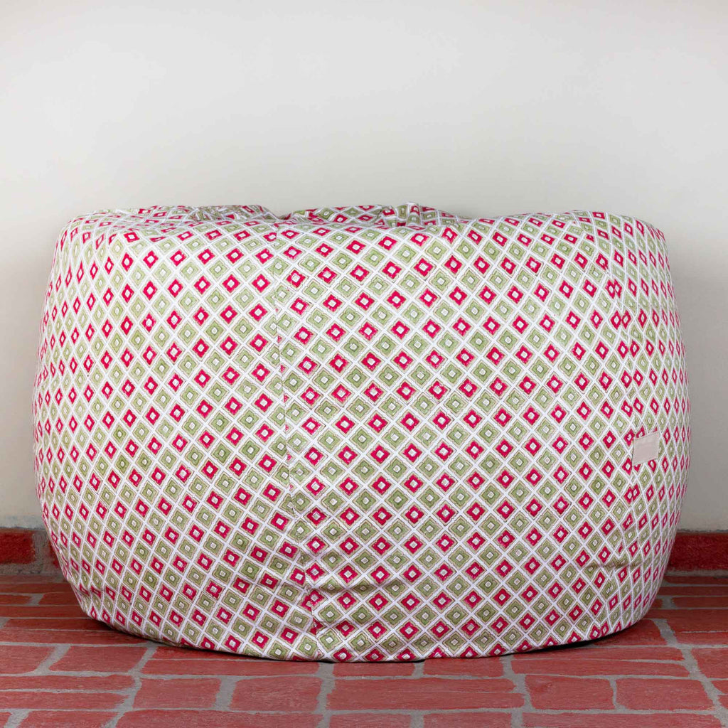 Persian Pastels Hillock Bean Bag Cover