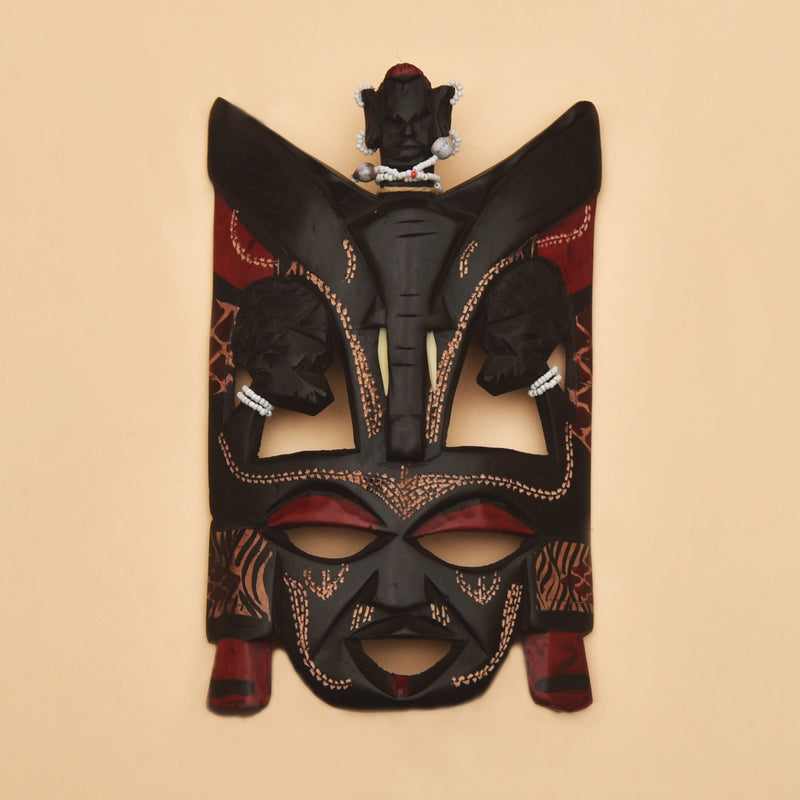 buy-handmade-african-artifacts-wall-decor-wall-hanging-mask-for-cafe-home-online-india-bangalore