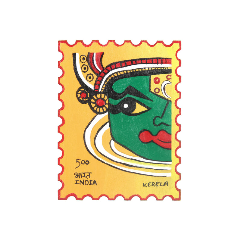 Kathak Expression Fridge Magnet