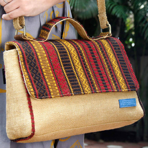 Tribestripe Duo Shopper Bag