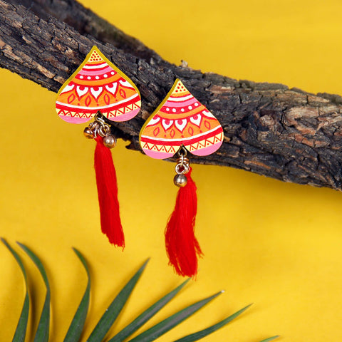 Tribal Curves Earring