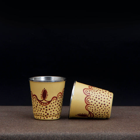 Gond Lagoon Glasses Set of 4