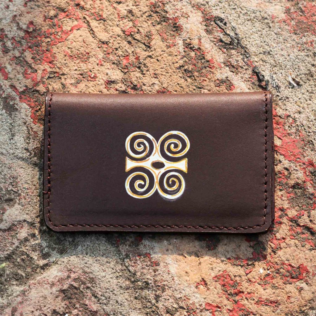 Mayan Rock Card Holder