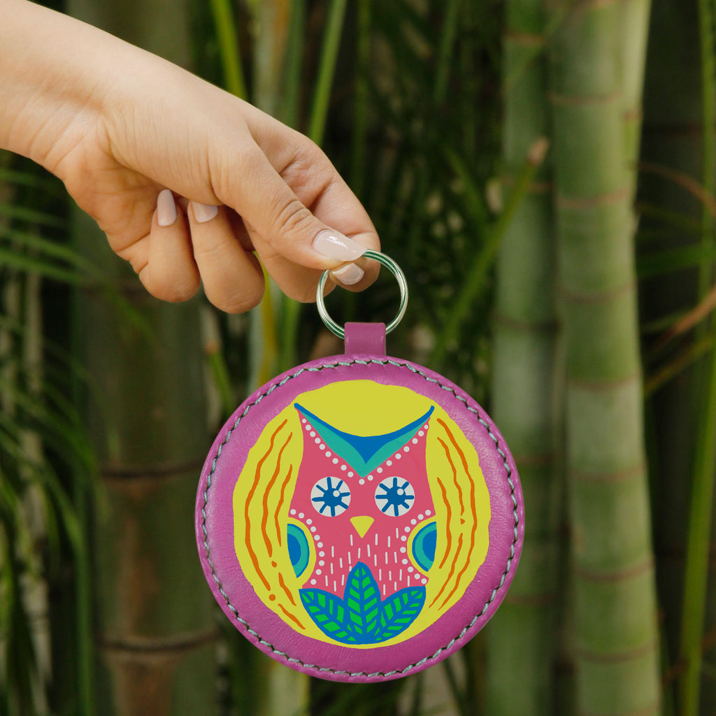 Mexi Owl Key Chain