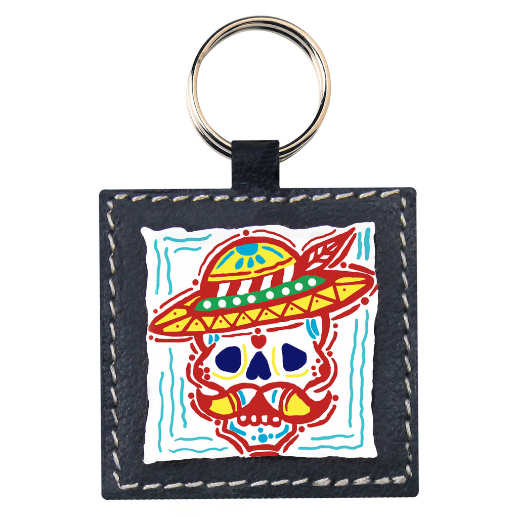 Mr Skulll Key Chain