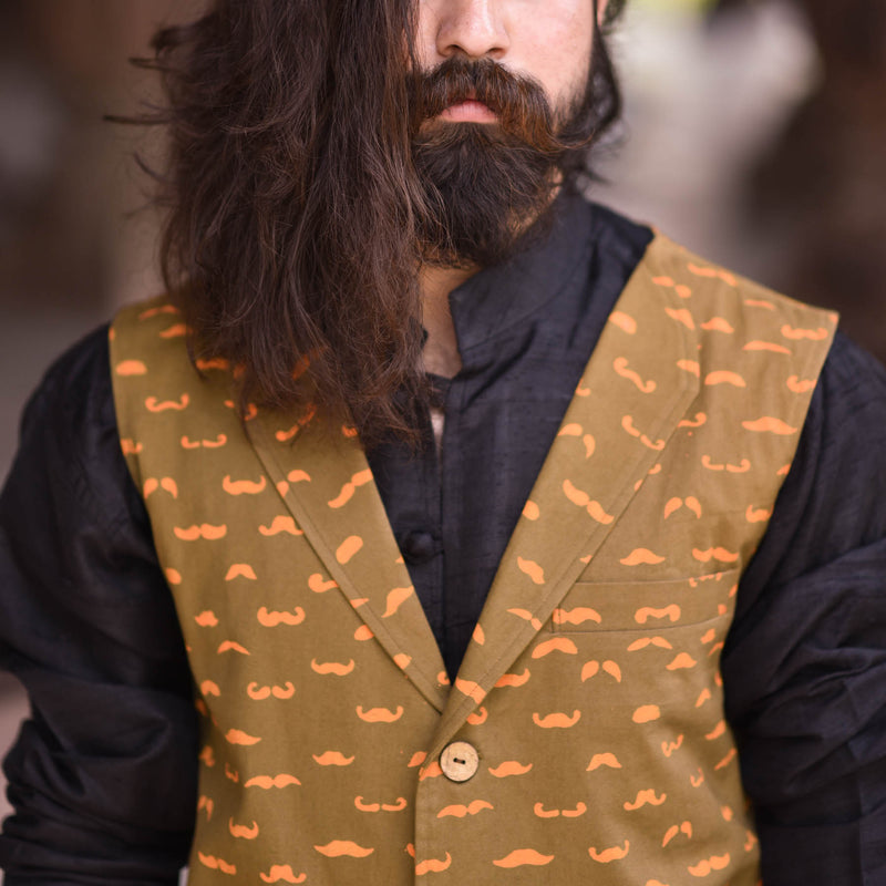 Quirky-mooch-hand-block-printed-jacket-online