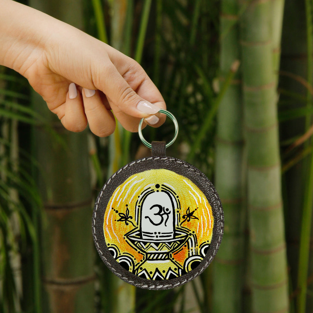 OM Namo Key Chain