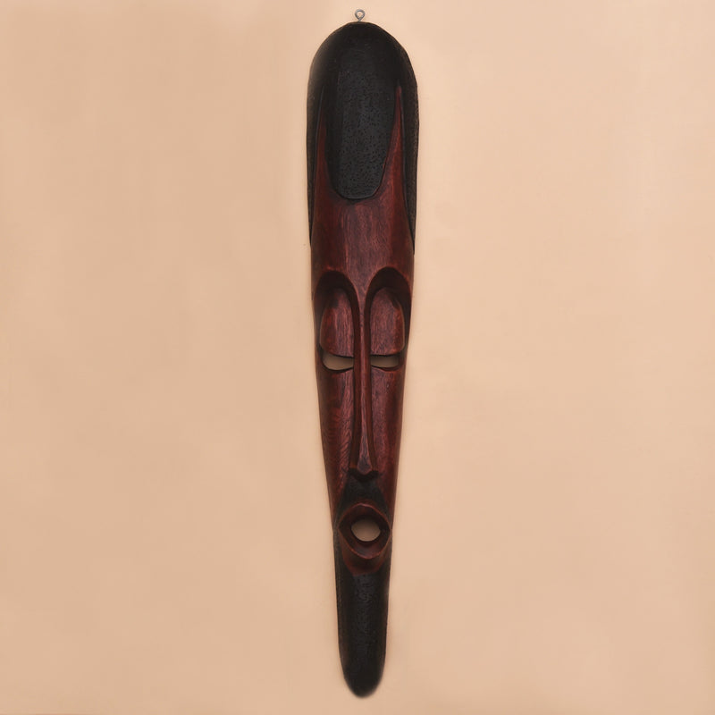 buy-african-tribal-handcrafted-hand-carved-black-wooden-mask-online-india-bangalore-indore