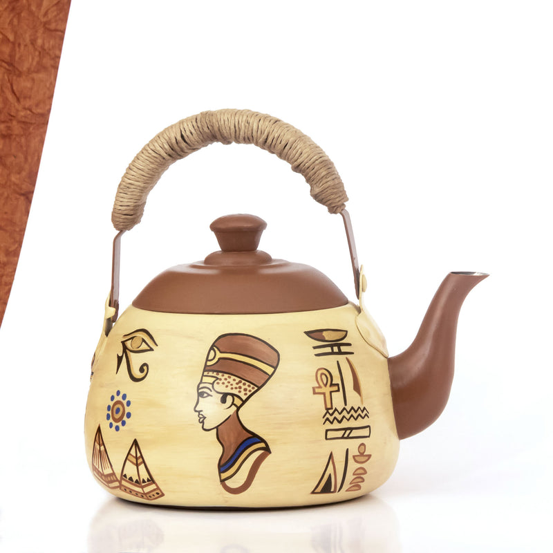 Giza Narrative Wedge Kettle